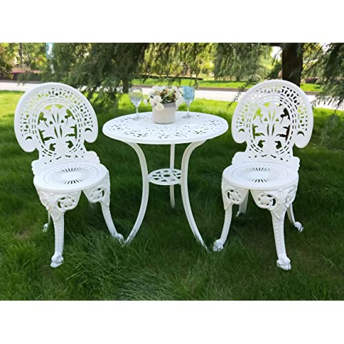 Tremendous White Aluminum Patio Furniture Amazon Com Download Free Architecture Designs Ogrambritishbridgeorg