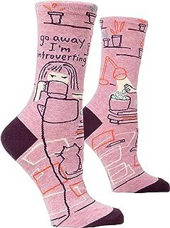 Women's Novelty Crew Socks (fit women's shoe size 5-10)