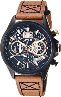 Hawker Harrier II Matador Edition Watch - Black/Brown