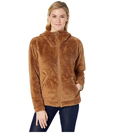The North Face Furry Fleece Hoodie (Cedar Brown (Prior Season)) Women