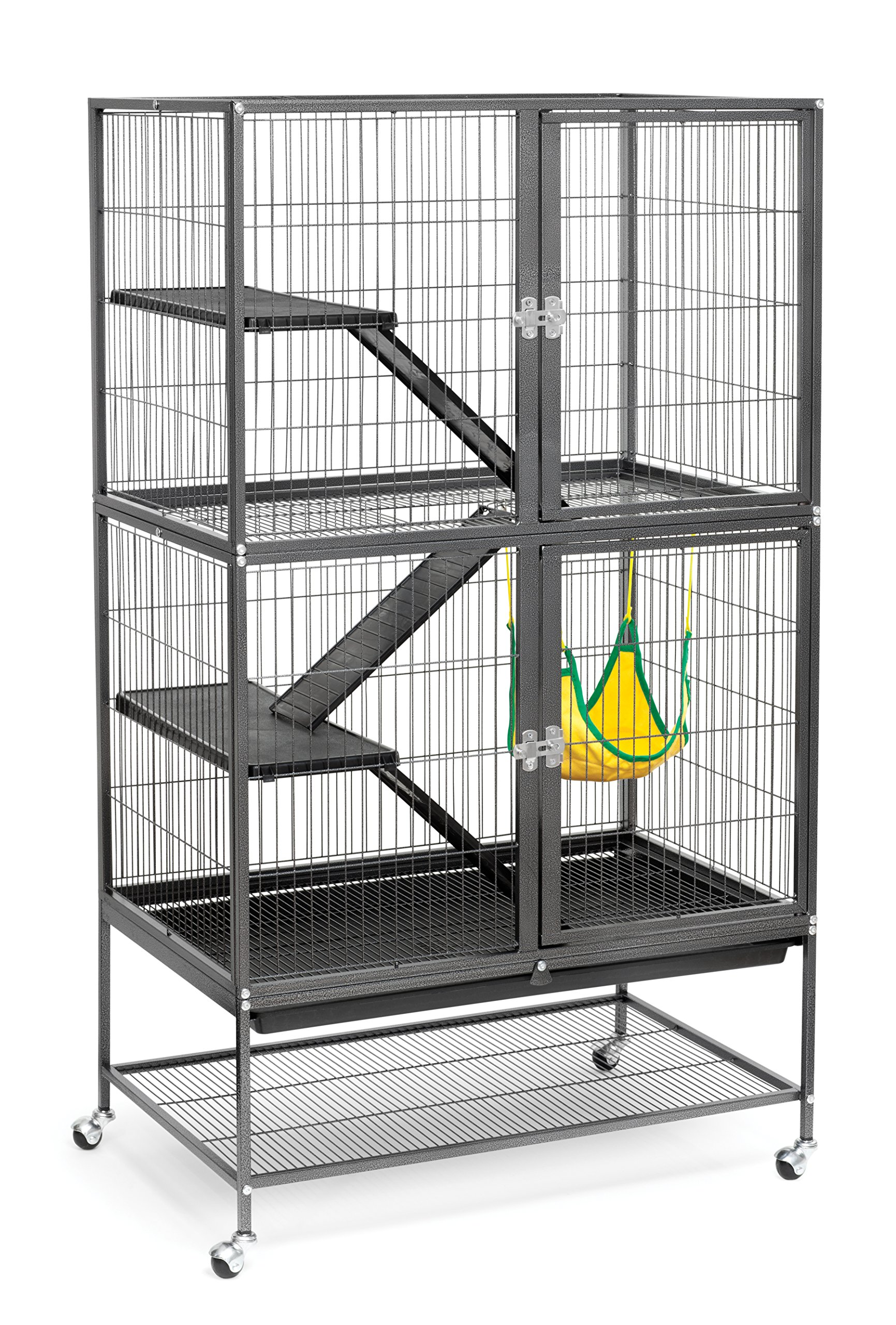 ferret supplies amazon comprevue hendryx black feisty ferret cage