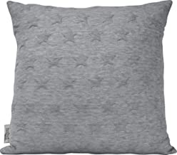 "Urban Loft by Westex Star Brilliant Charcoal Polyester Filled Decorative Throw Pillow Cushion 18"" x 18"""