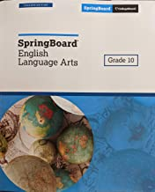 grade 10 springboard english language arts
