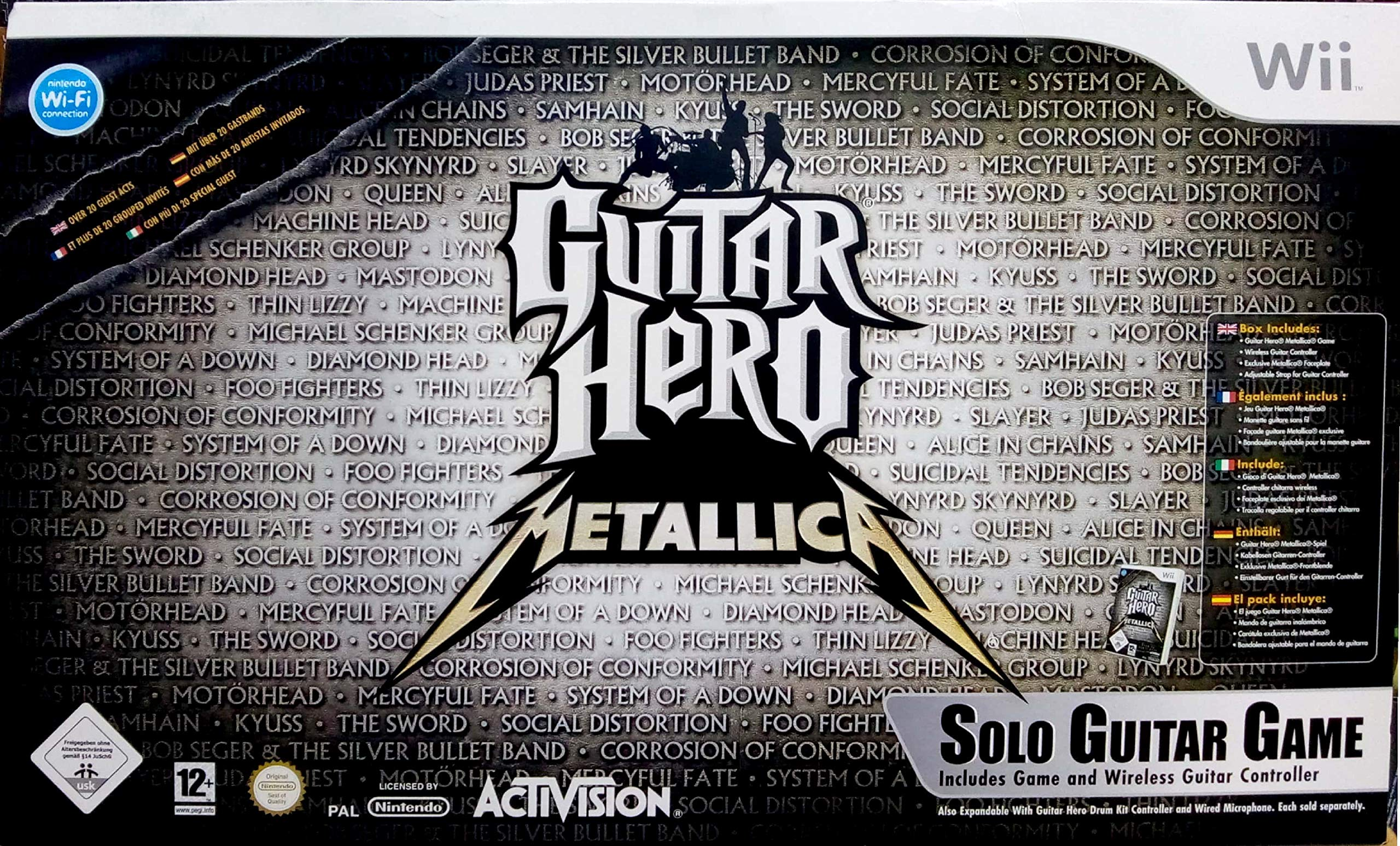 Guitar Hero Metallica Bundle + Faceplate: Amazon.es: Videojuegos