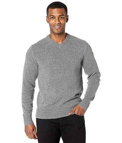 Fjallraven Ovik V-Neck Sweater (Grey) Men
