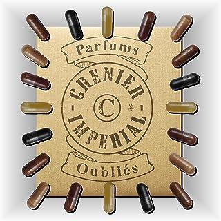 ASSORTIMENTO 10 capsule vegetali (0,5 ml) di profumi di incenso vivente senza alcool GRENIER IMPERIAL profumo Made in FRAN...