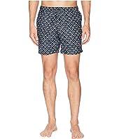 Medium length Mini-Motif Swim Shorts