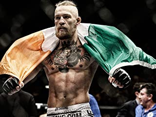 Gryposaurus Conor McGregor MMA Fighter Poster 18 × 24 Inches