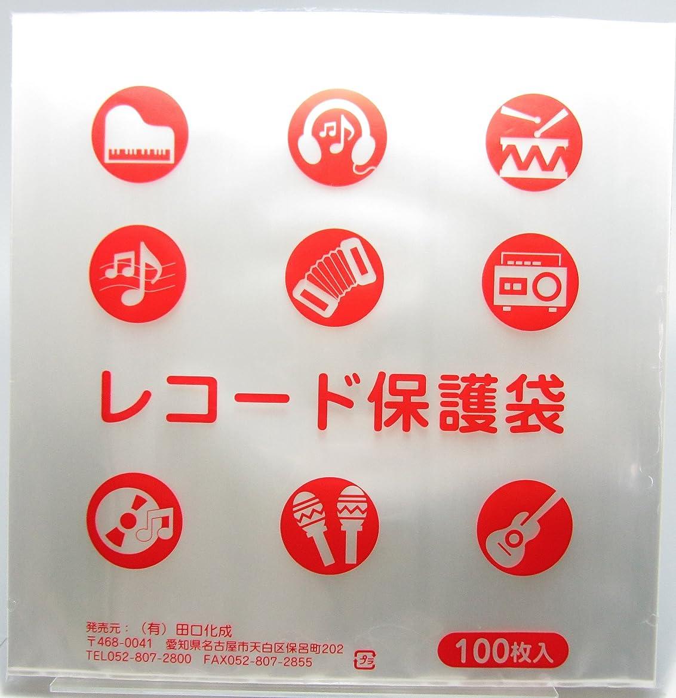 王朝物理的な花瓶LP保護袋(06)100枚