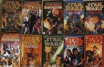 Star Wars 10 Novel Sequel Set including Guide to Star Wars Universe