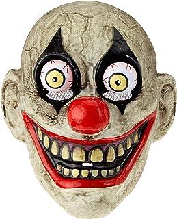 Rubies- Mascara The Clown con Ojos Moviles,, Talla única (S5144)
