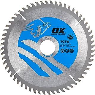 OX Wood Cutting Circular Saw Blade 190/30mm, 60 Teeth ATB