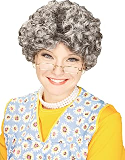 Forum Novelties Women's Yo Momma Curly Costume Wig