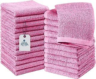 DAN RIVER 100% Cotton Washcloths 24 Pack  Washcloths for Face Soft  Cotton Washcloths Bulk  Essential Wash Cloths for Bath...