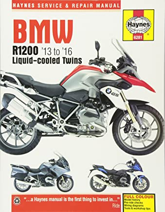Haynes BMW R1200 13 to 16 Liquid-Cooled Twins Service and Repair Manual