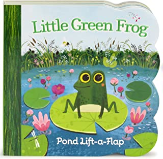 a little green frog