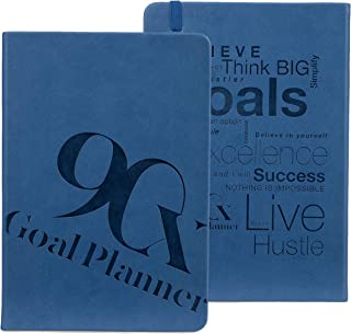 90X 90 Day Undated Goal Planner - Productivity Goals Daily Life Journal, Maya