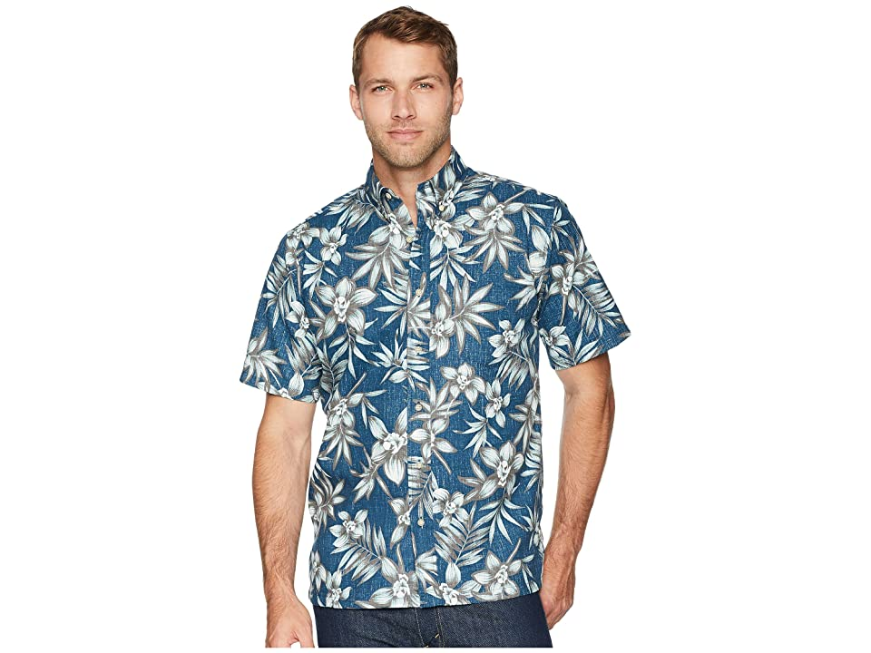 Reyn Spooner Onishi Garden Classic Fit Aloha Shirt (Lake) Men
