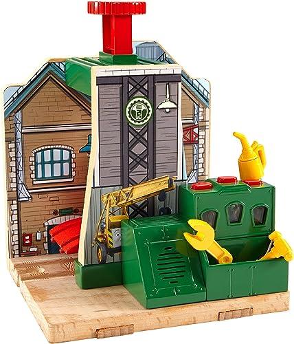 Fisher-Price Mattel CDK46 - Thomas und Seine Freunde Lokwerkstatt - Holz