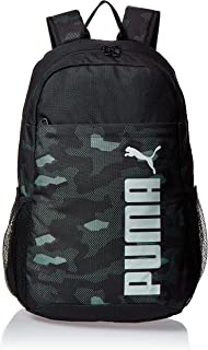 Puma Style Backpack Black Bag For Unisex, Size One Size