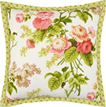 WAVERLY Emma's Garden Decorative Pillow, 18 x 18, Blossom