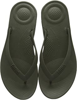 FitFlop iQushion Ergonomic Flip Flop Men's Rubber Thong