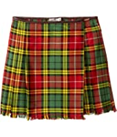 Junior Gaultier - Plaid Yellow Skirt (Big Kids)