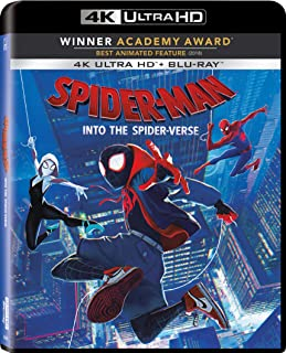 Spider-Man: Into The Spider-Verse 4K ULTRA HD