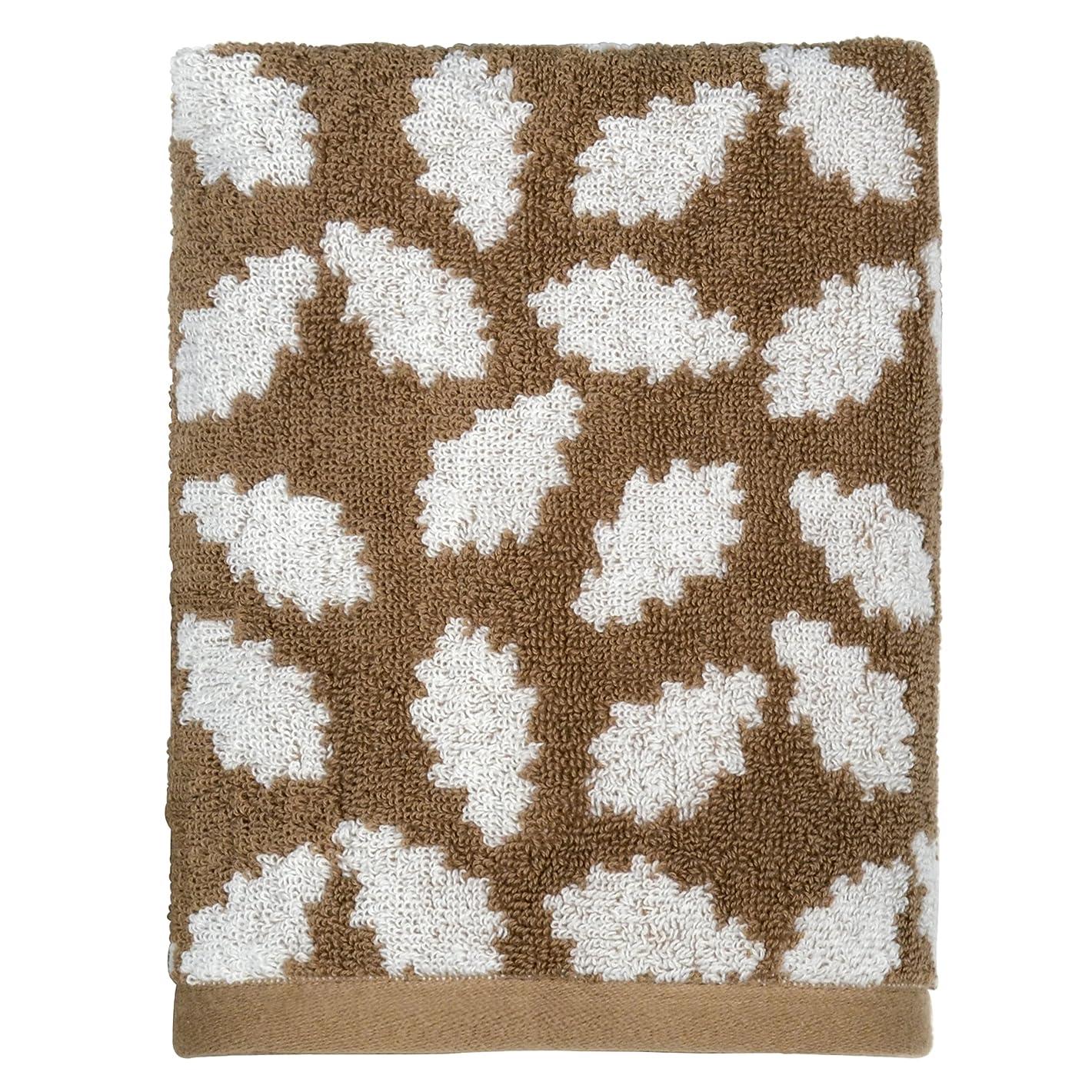 主流硬化する主流Peri Home Oak Leaf 100% Cotton Hand Towel, 38cm x 70cm , Brown