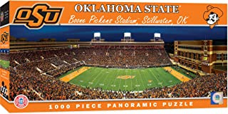 "MasterPieces NCAA Oklahoma State Cowboys Football Stadium Panoramic Jigsaw Puzzle, 1000 Pieces, 13"" x 39"""