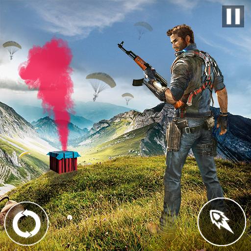 Battlegrounds Survival Shootout Fire : FPS Battle Royale Unknown Battlefield Shoot to kill shooting games 2019