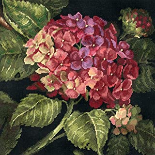 Gorgeous Floral Bouquet Hand Painted Design Needlepoint Canvas A0064 14CT Mono Deluxe,20 X 24