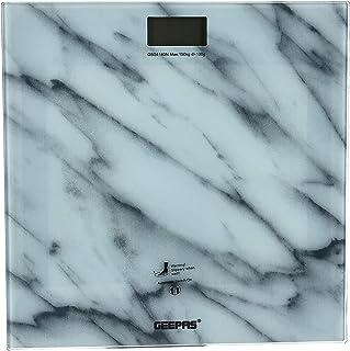 Geepas Digital Personal Scale, White GBS4180