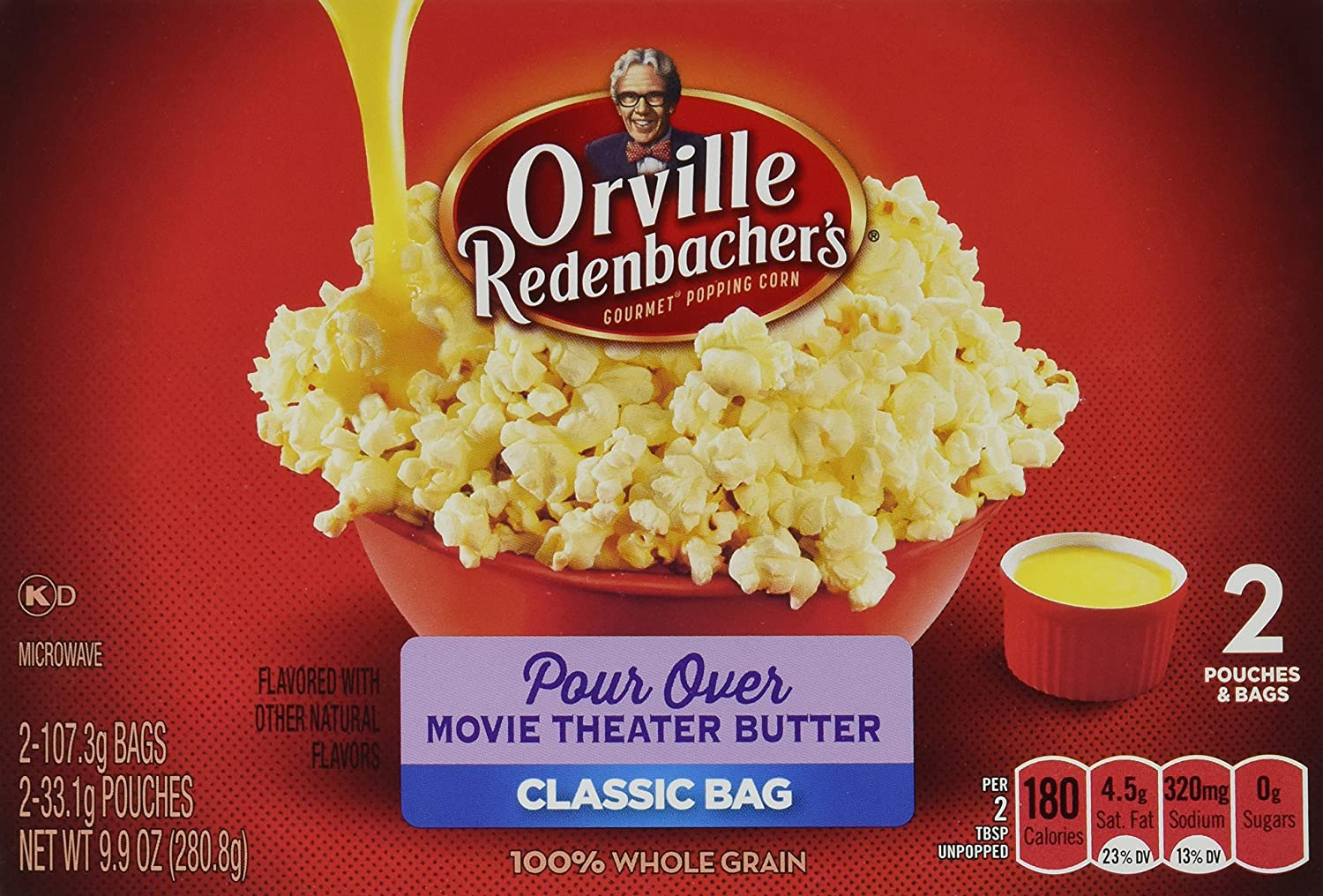 Orville Redenbacher's Gourmet Microwave Omaha Mall Pour-Over Special price for a limited time Popcorn Movi