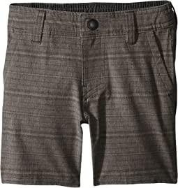 Locked Stripe Hybrid Shorts (Toddler/Little Kids)