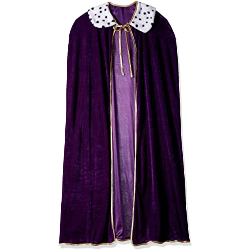 e32c6fa569 Adult King Queen Robe (purple) Party Accessory (1 count) (1