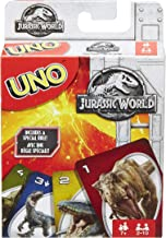 Mattel Jurassic World Uno Card Game