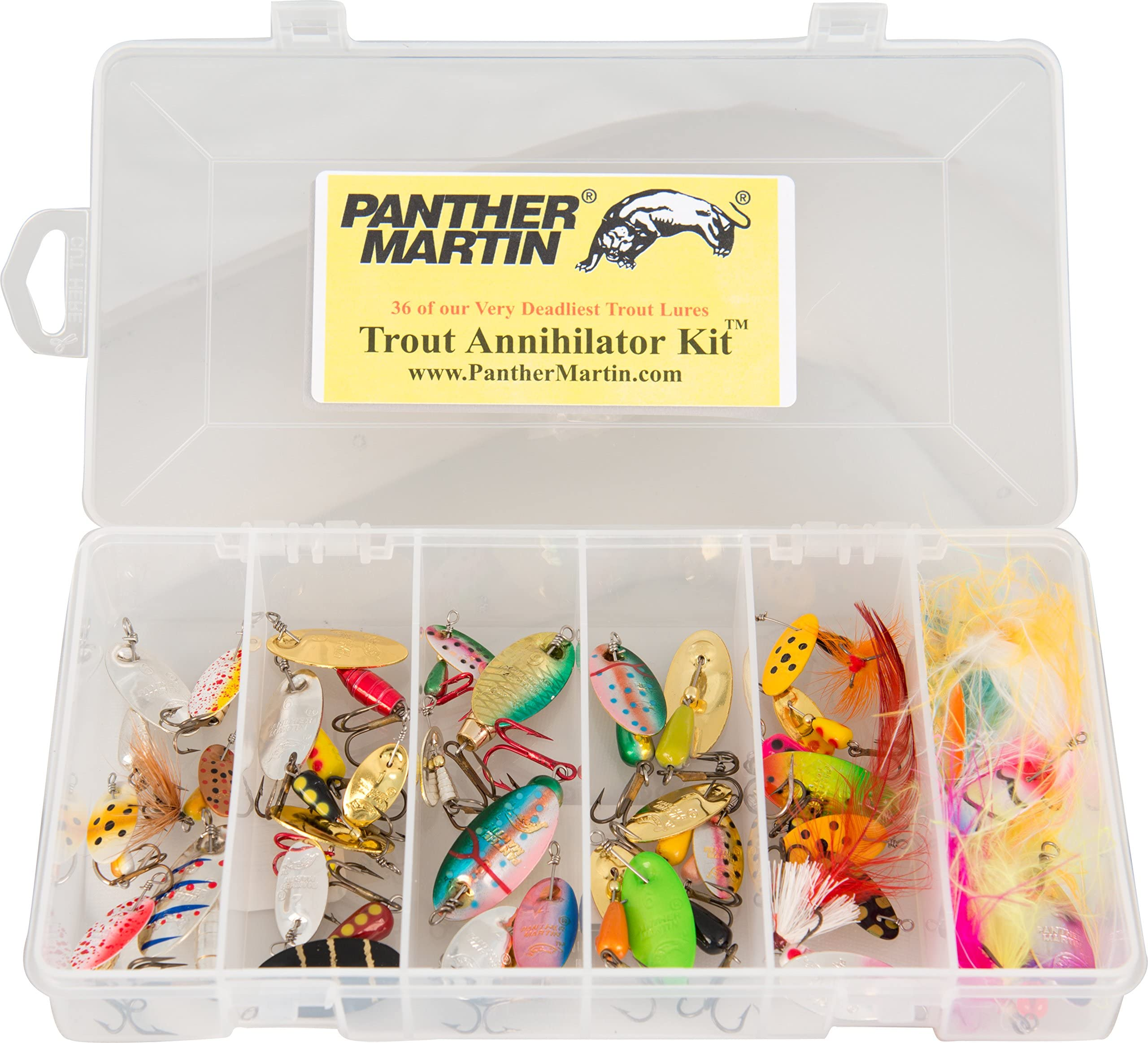 Panther Martin PMBRK U Nature Series Brook Trout UDR Spinner Lure Size 2 1//16 oz