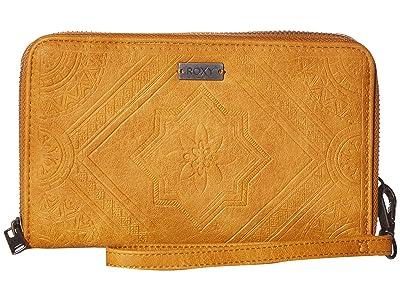 Roxy Oopsie Daisy Wallet (Camel) Wallet Handbags