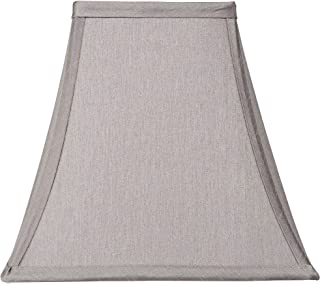 Pewter Gray Square Shade 5.25x10x9.5 (Spider) - Springcrest