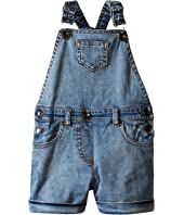Dolce & Gabbana Kids - Denim Coveralls in Light Blue (Toddler/Little Kids)