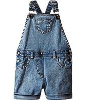 Dolce & Gabbana Kids Denim Coveralls in Light Blue (Toddler/Little Kids)