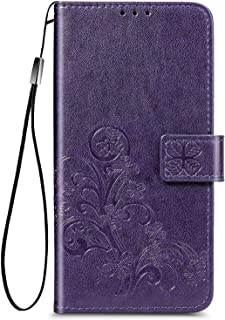 TingYR Case for Huawei nova 7 SE 5G Youth Cover, Cover Flip Case Stylish Wallet Case with Card Slots Shockproof, Case for ...