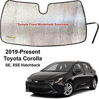 Auto ProMaster Custom fit Front Windshield Sunshade for 2018 2019 2020 2021 Toyota CH-R CHR C-HR CUV UV Rays Reflector Sunscreen Protector Accessories Made in USA
