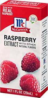 McCormick Raspberry Extract With Other Natural Flavors, 1 Fl Oz (Pack of 6)