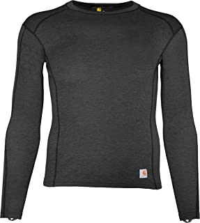 Carhartt Base Layer Men's Base Force Heavyweight Polyester-Wool Crew