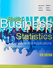 Basic Business Statistics:Concepts & App