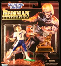 DANNY WUERFFEL / UNIVERSITY OF FLORIDA 1997 NCAA College Football HEISMAN COLLECTION Starting Lineup Action Figure, Football Helmet & Miniature 1996 Heisman Memorial Trophy