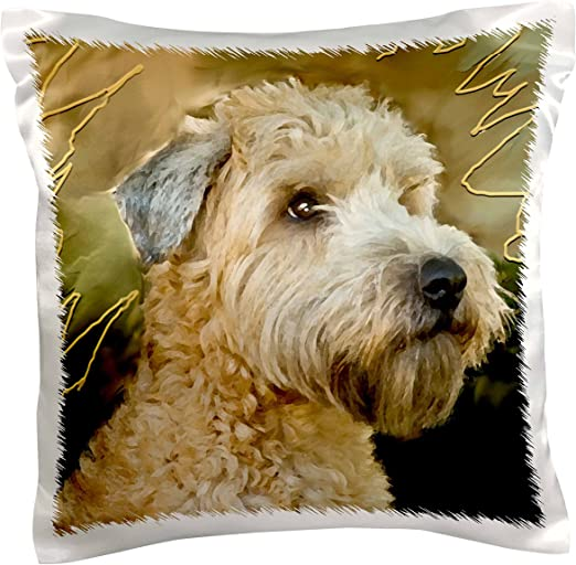 3drose Pc 4808 1 Soft Coated Wheaten Terrier Portrait Pillow Case 16 By 16 Arts Crafts Sewing Amazon Com