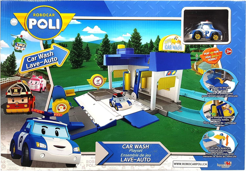Robocar Poli ID83159 Car Wash Playset